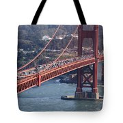 Golden Gate Traffic Tote Bag