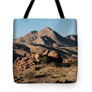 Golden Gold Butte Tote Bag