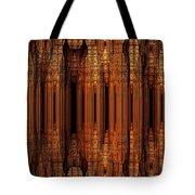 Golden Gothic Tote Bag