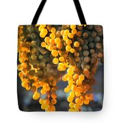 Golden Grapes Tote Bag by Elaine Plesser