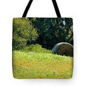 Golden Hay Day Tote Bag