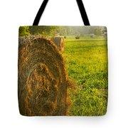 Golden Hay Field Tote Bag