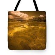 Golden Landscape Tote Bag