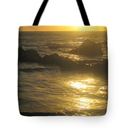 Golden Maui Sunset Tote Bag