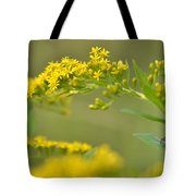 Golden Perch Tote Bag