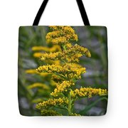 Golden Rod Tote Bag