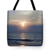 Golden Rose Reflection Squared Tote Bag