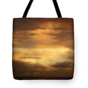 Golden Sunrise Squared Tote Bag