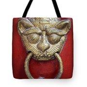 Golden Temple Door Knocker  Tote Bag