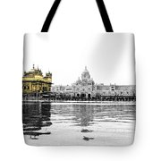 Golden Temple India Tote Bag