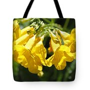 Golden Trumpets Tote Bag