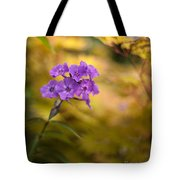 Golden Violets Tote Bag