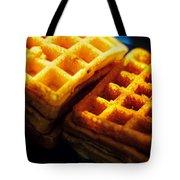Golden Waffles Tote Bag