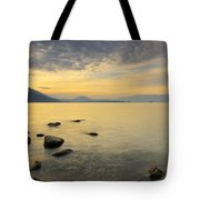 Golden Waters Tote Bag