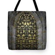 Golden Window - St Vitus Cathedral Prague Tote Bag