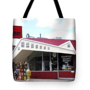 Goldie's Route 66 Diner  Tote Bag