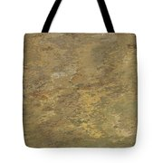 Goldtone Stone Abstract Tote Bag