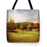 Golf Course IIi Tote Bag