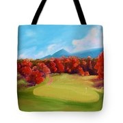 Golf Course In The Fall 2 Tote Bag