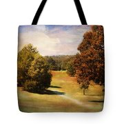 Golf Course Iv Tote Bag