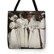 Golfing Party, C1895 Tote Bag