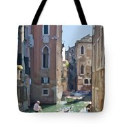 Gondola Painting Tote Bag