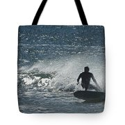 Gone Surfing Tote Bag