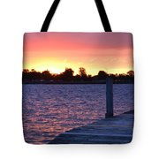 Good Morning From Marysville Michigan Usa Tote Bag