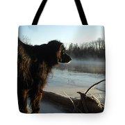Good Morning Mississippi River Tote Bag