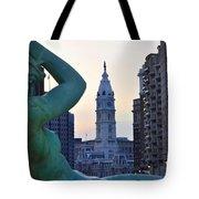 Good Morning Philadelphia Tote Bag