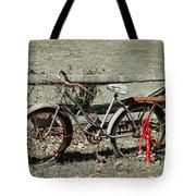 Good Ole Times Bike And Hand Pump Tote Bag