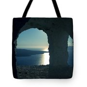 Good View Santorini Island Tote Bag