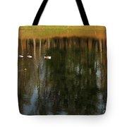 Goose Goose Duck Goose Tote Bag by Trish Hale