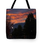 Gorgeous Sunrise On G Street Tote Bag