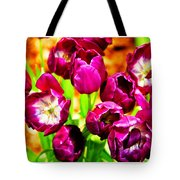 Gorgeous Tulips Tote Bag