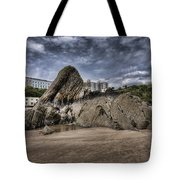 Goscar Rock Tenby 4 Tote Bag