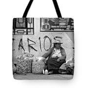 Gossip Time Monochrome Tote Bag
