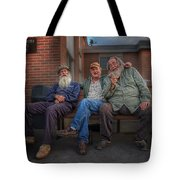 Gossips And Rumour Mongers Tote Bag