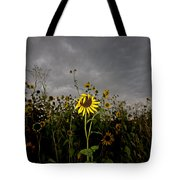Goth Sunflower Tote Bag