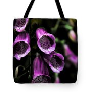Gothic Bell Flower Tote Bag