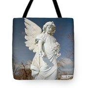 Gothic Blue Sky Tote Bag