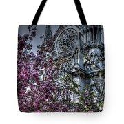Gothic Paris Tote Bag