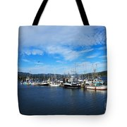 Government Wharf In Sooke Harbour Tote Bag