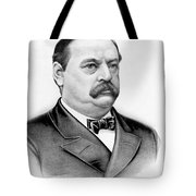 Governor Grover Cleveland - Twenty Second President Of The Usa Tote Bag by International  Images