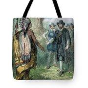 Governor John Winthrop Tote Bag