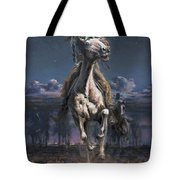 Grab The Fast Horse Tote Bag
