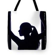 Graceful Silhouette Tote Bag