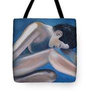Gracefully Blue Tote Bag