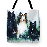 Gracie Abbey And Bella Tote Bag