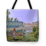 Grad Dubrovnik Tote Bag